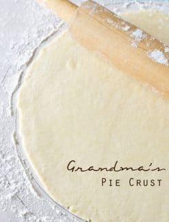 grandma's pie crust title image