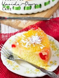 pineapple upside down cake title image