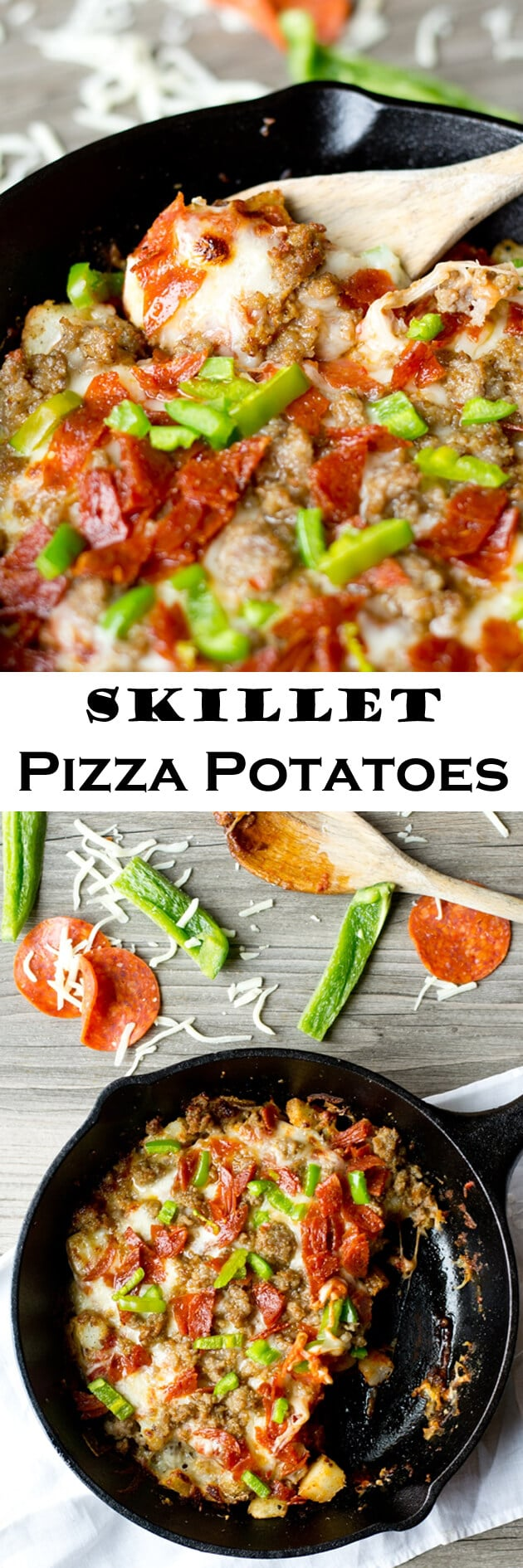 Skillet Pizza Potatoes 1