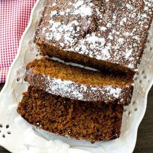 easy gingerbread cake