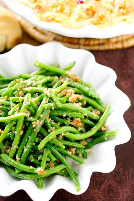 Italian Green Beans With Parmesan Cheese