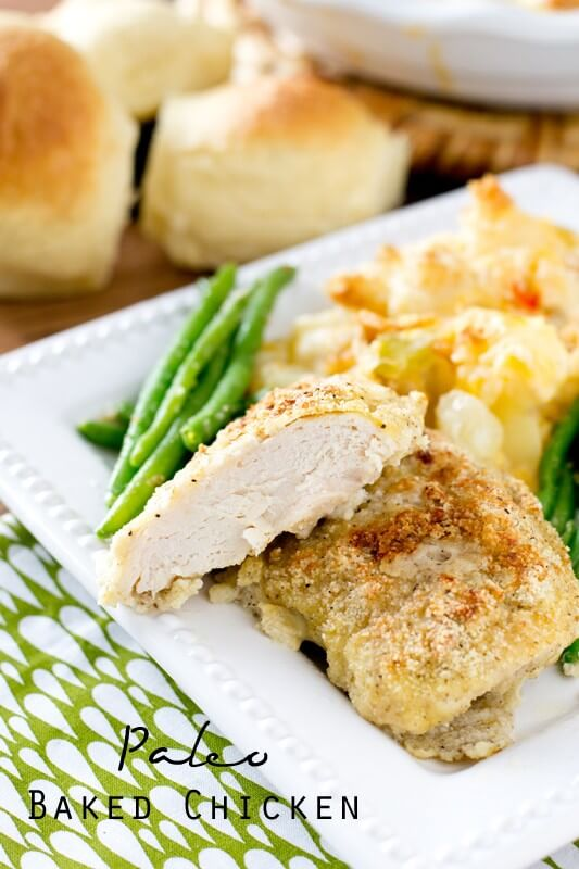Paleo baked chicken recipe easy gluten free chicken dinner idea paleo baked chicken forumfinder Choice Image