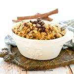 lumberjack oatmeal with raisins