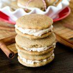 Cinnamon Buttercream Cookie Sandwiches {Soft Cinnamon Cookies}