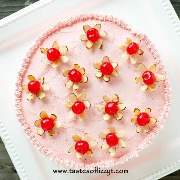 cherry-almond-cake