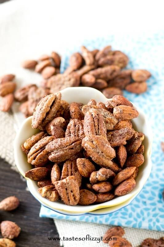 Paleo Maple Glazed Pecans - Tastes of Lizzy T