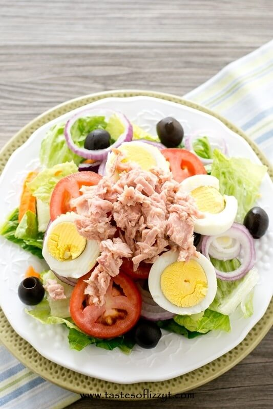Paleo Tuna Salad - Tastes of Lizzy T