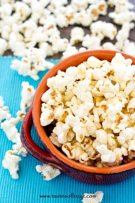 Honeyscotch Popcorn - Tastes of Lizzy T