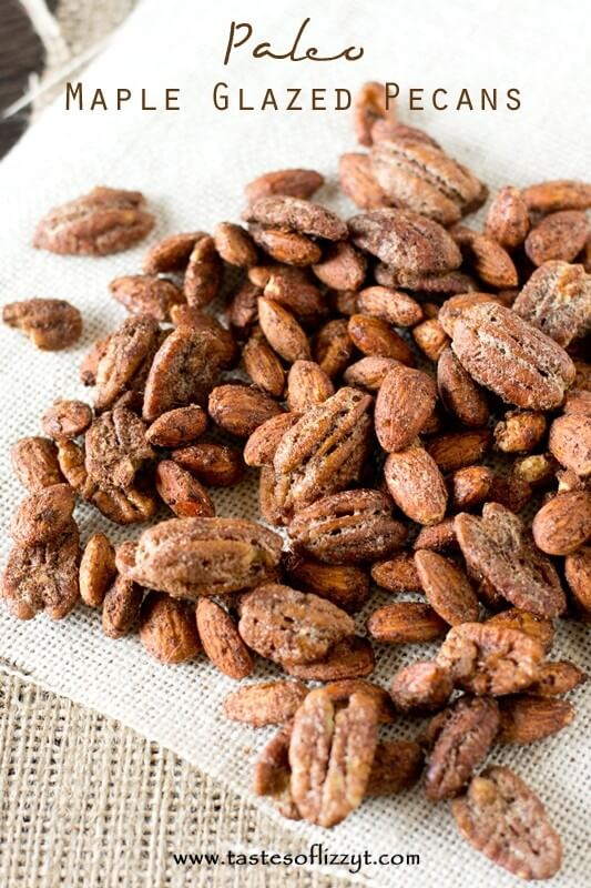Paleo Maple Glazed Pecans