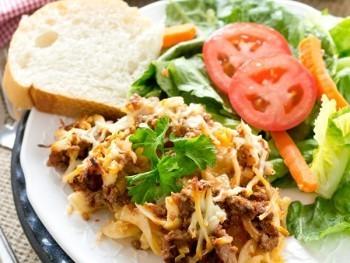 Lasagna Noodle Casserole Recipe - Tastes of Lizzy T