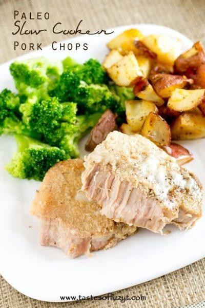 Paleo Slow Cooker Pork Chops