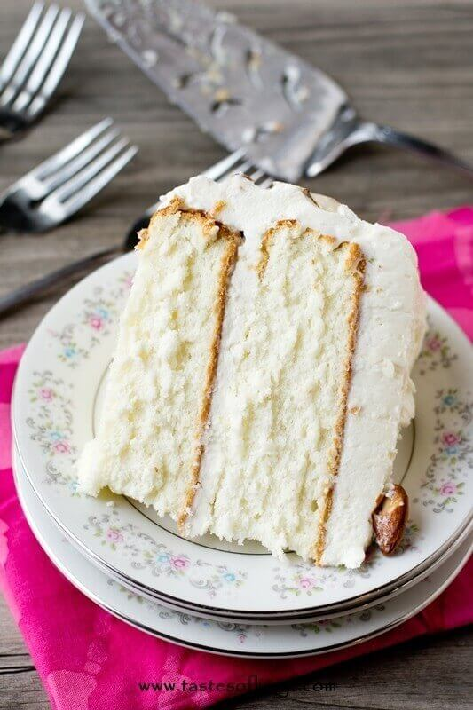 almond-cream-cake-recipe