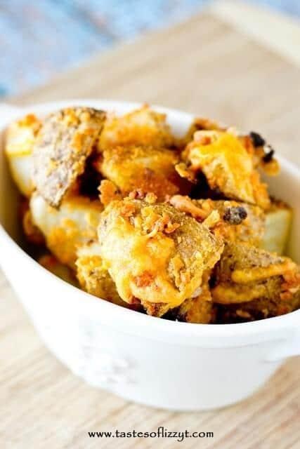 Cheesy Ranch Potato Bites Recipe - Tastes of Lizzy T