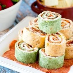 Italian Pepperoni Rollups Recipe - Tastes of Lizzy T #collectivebias #ad #pepitup