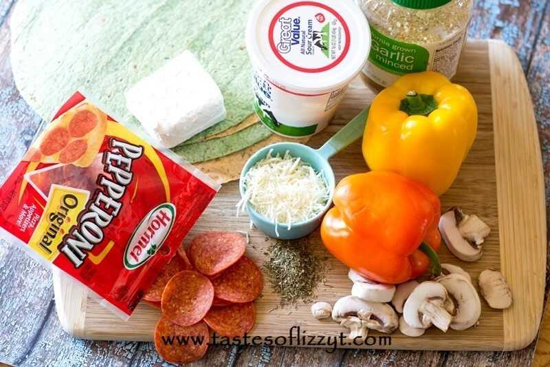 Italian Pepperoni Rollups Recipe - Tastes of Lizzy T #collectivebias #ad #pepitup
