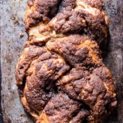 Cinnamon Crunch Braided Bread