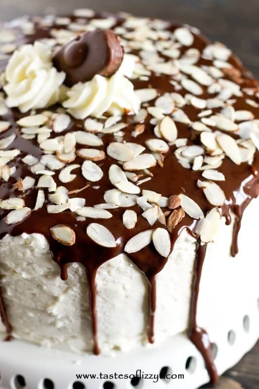 Almond Joy Layer Cake Recipe