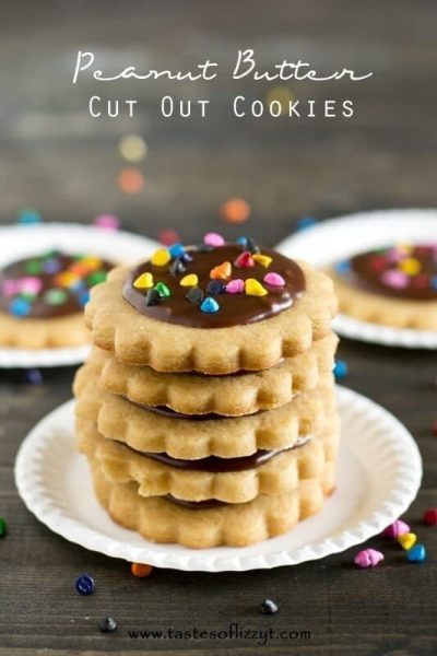 Peanut Butter Cut Out Cookies