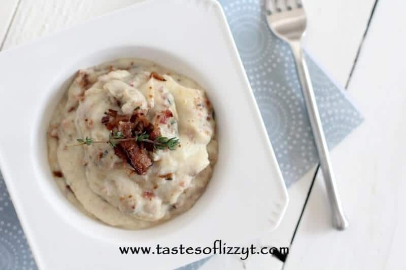 Bacon Thyme Mashed Cauliflower Recipe The Whole Smith S For Tastes Of
