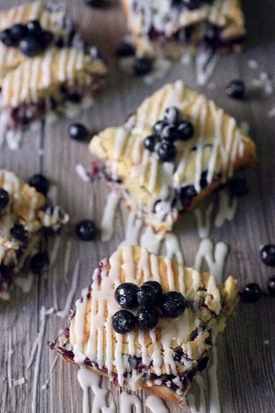 Blueberry Coconut Bars