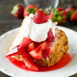 Gluten Free Angel Food Cake Recipe - Tastes of Lizzy T