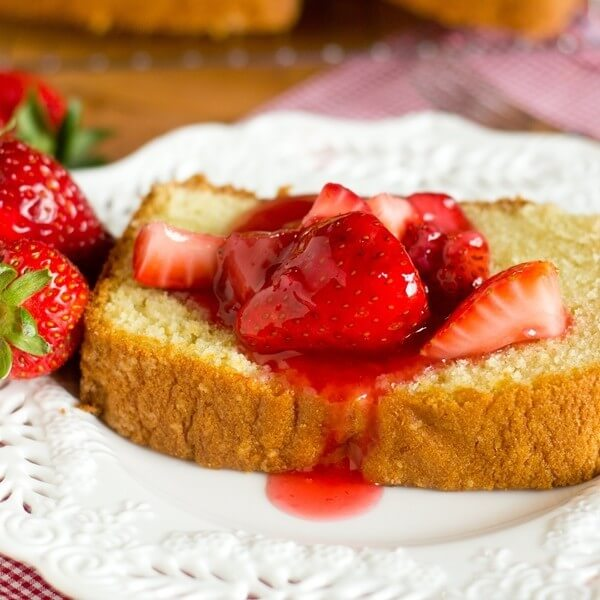 Homemade Strawberry Topping