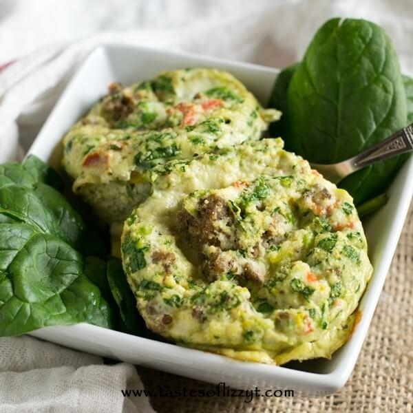 Paleo Sausage Egg Muffins