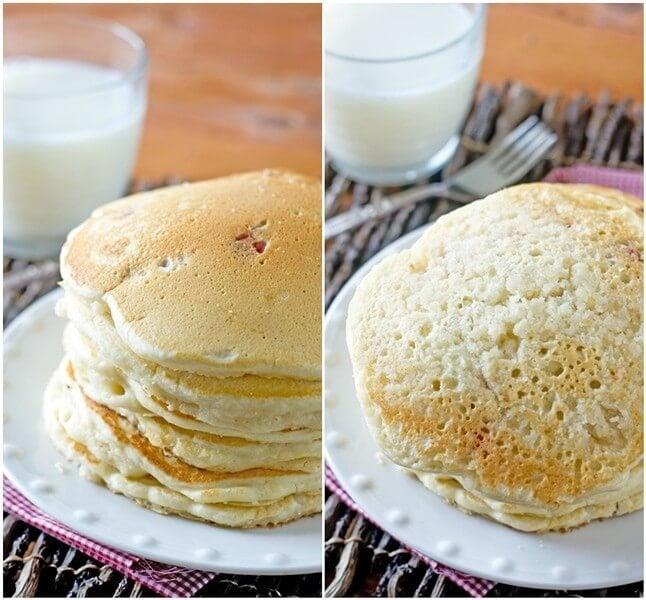 Strawberry Shortcake Pancakes Recipe - Tastes of Lizzy T