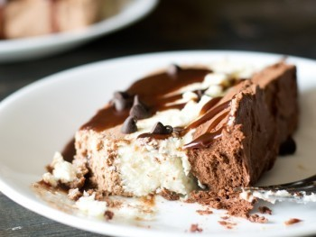 Triple Chocolate Frozen Dessert Recipe - Tastes of Lizzy T