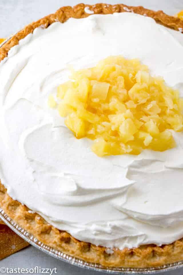 Amish pineapple pie