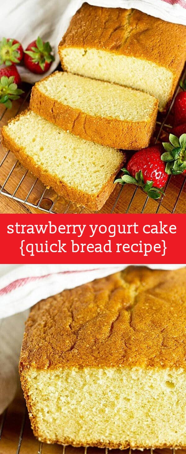 French Yogurt Pound Cake