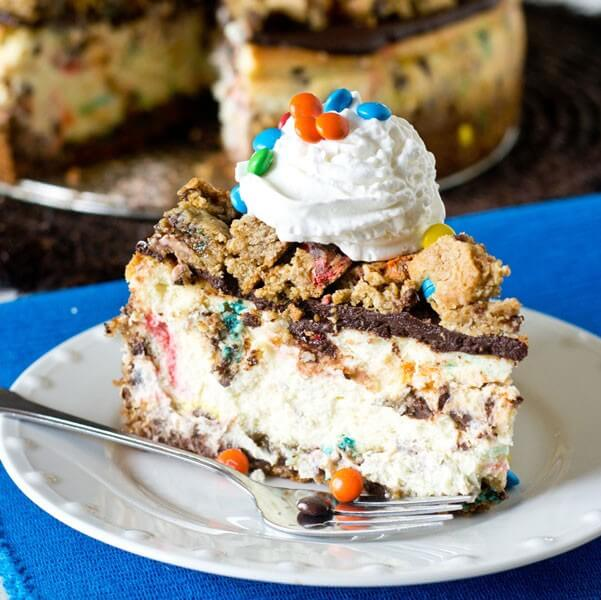Monster Cookie Cheesecake