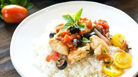 Best mediterranean diet dinner recipes like one skillet chicken forumfinder Images