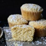 Whole Wheat Coconut Muffins