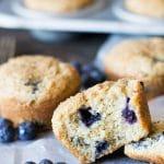 Brown Sugar Blueberry Muffins