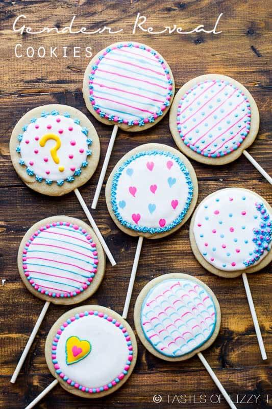 Gender Reveal Cookies Recipe And Tutorial