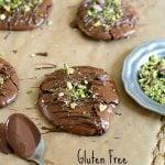 Gluten Free Chocolate Pistachio Cookies