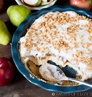 Layered Caramel Apple Cheesecake Dip