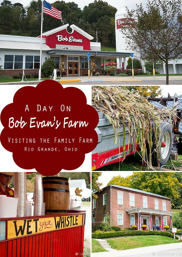 Visit Bob Evans Farm in Rio Grande, Ohio. Original home of Bob and Jewell Evans, Adamsville.