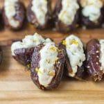 Orange Walnut Stuffed Dates {Easy Snack or Appetizer Recipe Idea}