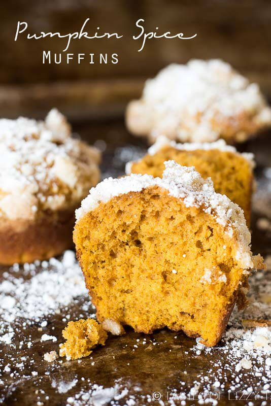 This pumpkin spice muffin is lightly spiced, soft and moist. The ...