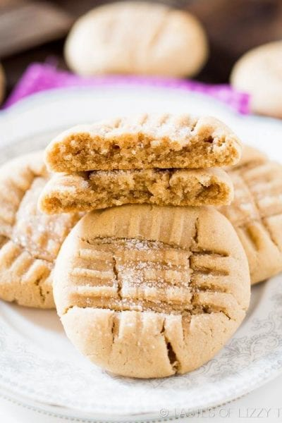 Bakery Style, Soft Peanut Butter Cookies