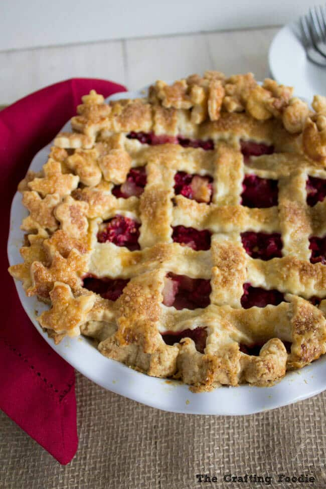 Pear Cranberry Pie Recipe {with A Double All Butter