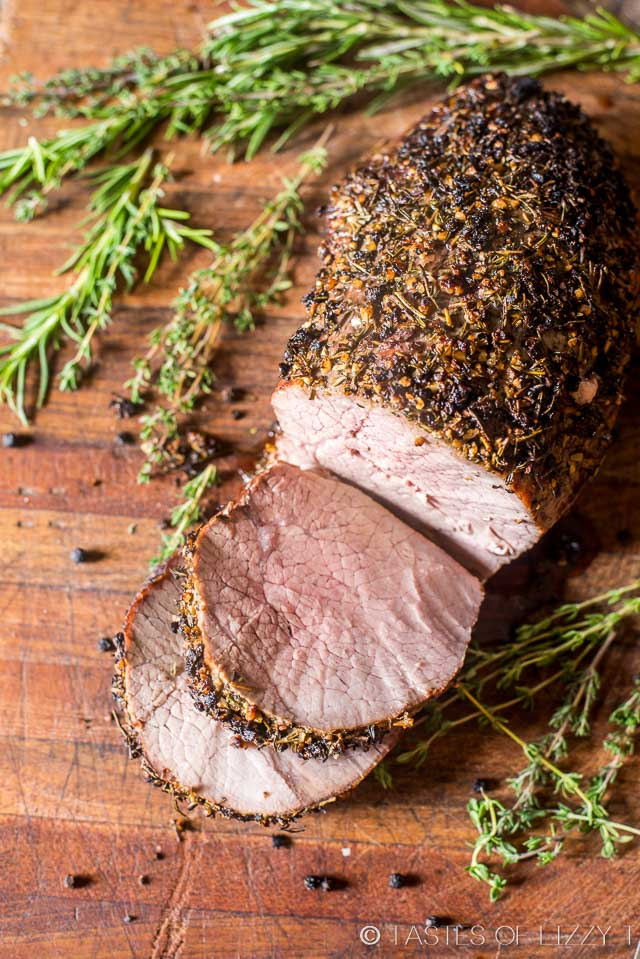 be nervous to roast a nice cut of beef. Top a beef roast with garlic ...