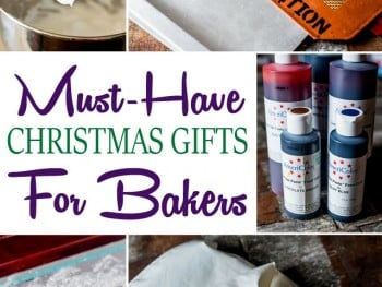 Must-Have Christmas Gifts for Bakers + Christmas Giveaway!