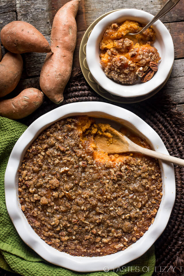 Sweet Potato Casserole with Pecan Topping | Recipe | Be Honest, Sweet ...