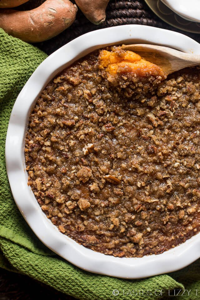 Sweet Potato Casserole With Pecan Streusel Topping Best