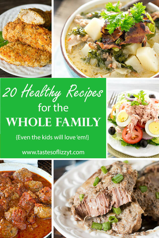 Family friendly healthy recipes whole30 and paleo recipe ideas 20 healthy recipes for the whole family forumfinder Image collections