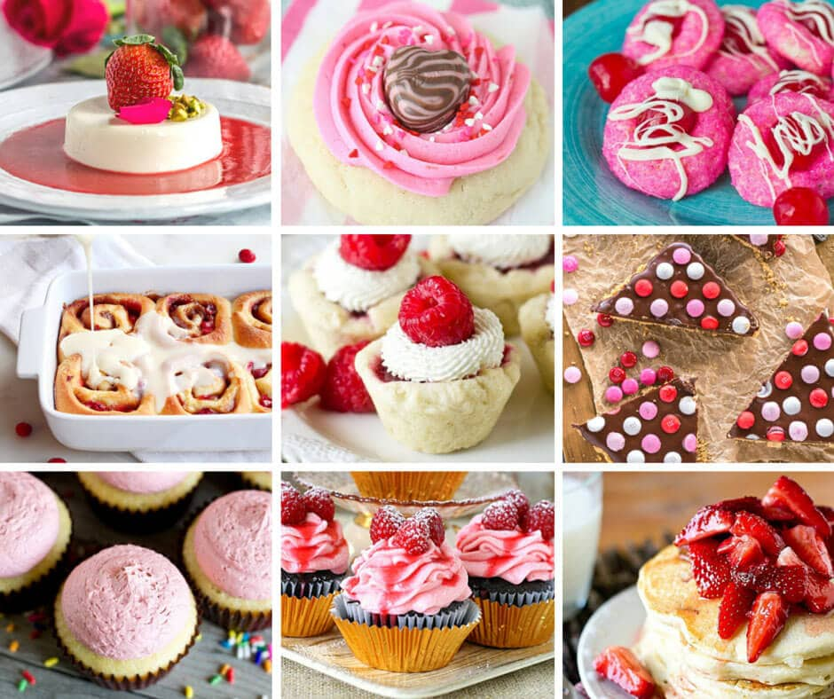 53 pink and red 39 s best valentine 39 s day recipes tastes of for Best valentines day meals