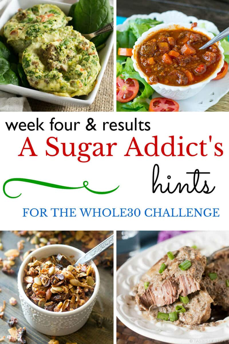 A Sugar Addict's Hints for the Whole30 Challenge: Results